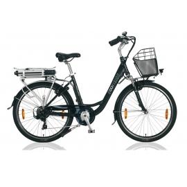 """Vélo à assistance électrique E-Vision PRELUDE 26"""" - 468 Wh noir 2018"""