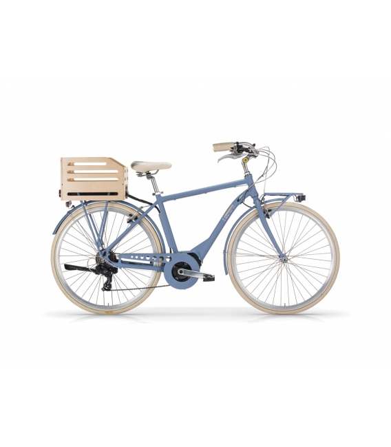 """Vélo à assistance électrique eAPOSTROPHE 28"""" homme - 418 Wh bleu 2018"""