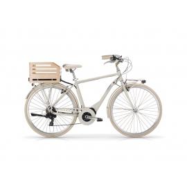 """Vélo à assistance électrique eAPOSTROPHE 28"""" homme - 418 Wh sable 2018"""