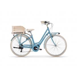 """Vélo à assistance électrique eAPOSTROPHE 28"""" dame - 418 Wh bleu 2018"""