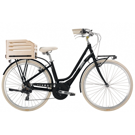 """Vélo à assistance électrique eAPOSTROPHE 28"""" dame - 418 Wh noir 2018"""