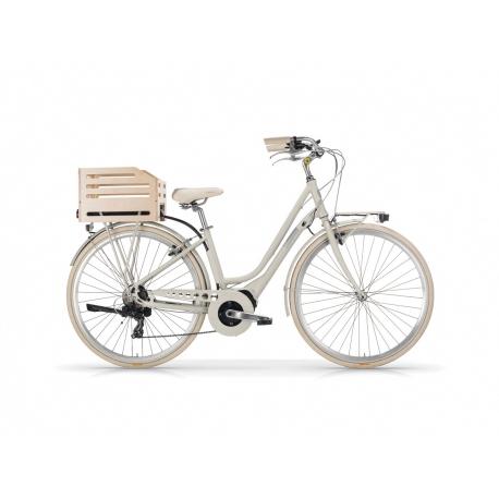 """Vélo à assistance électrique eAPOSTROPHE 28"""" dame - 418 Wh sable 2018"""