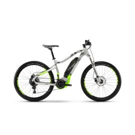 VTT à assistance électrique Haibike SDURO HardSeven 3.0 argent/vert fluo/noir 2018