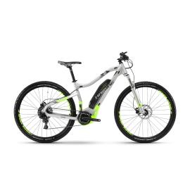 VTT à assistance électrique Haibike SDURO HardNine 3.0 argent/vert fluo/noir 2018