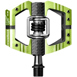 Pédales VTT Crankbrothers MALLET limited edition E LS vert/noir 2018