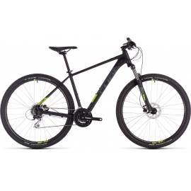 "VTT Cube Aim Pro black'n'flashyellow 29"" 2019"