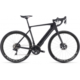 VTT à assistance électrique Cube Agree Hybrid C:62 SLT Disc black edition 2019