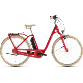 Vélo à assistance électrique Cube Elly Cruise Hybrid 400 red'n'mint 2019