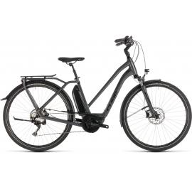 Vélo à assistance électrique Cube Town Sport Hybrid Pro 400 iridium'n'black Trapeze 2019