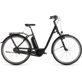 Vélo à assistance électrique Cube Town Hybrid EXC 500 black edition Easy Entry 2019