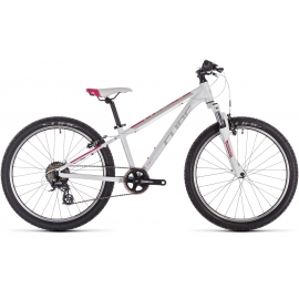 VTT enfant Cube Access 240 white'n'red'n'coral 2019