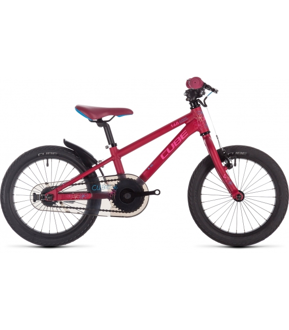 VTT enfant Cube Cubie 160 girl berry'n'pink'n'blue 2019
