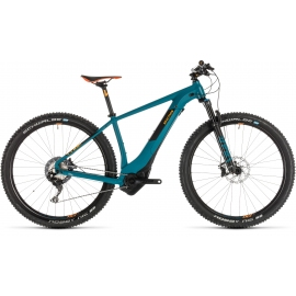 "VTT à assistance électrique Cube Reaction Hybrid SLT 500 KIOX pinetree´n´orange 29"" 2019"
