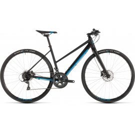 Vélo de route Cube SL Road black´n´blue Trapeze 2019