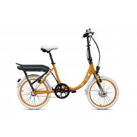 Vélo pliant à assistance électrique O2Feel PEPS N3 ORIGIN orange 374 2020