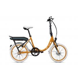 Vélo pliant à assistance électrique O2Feel PEPS N3 ORIGIN orange 504 2019