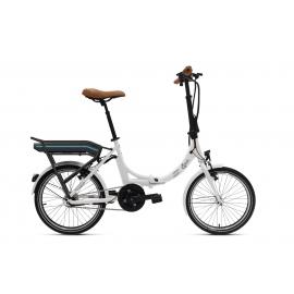 Vélo pliant à assistance électrique O2Feel PEPS N7C OES blanc 374 2020