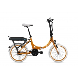 Vélo pliant à assistance électrique O2Feel PEPS N7C OES orange 504 2020