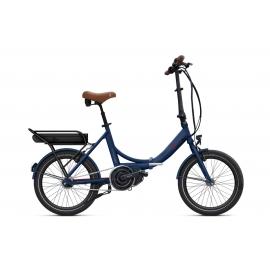 Vélo pliant à assistance électrique O2Feel PEPS N7C SHIMANO STEPS E5000 blue/brick P400 2020