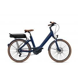 Vélo à assistance électrique O2Feel SWAN LITTLE N7C SHIMANO STEPS E5000 blue/brick P400 2019