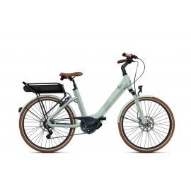 Vélo à assistance électrique O2Feel SWAN LITTLE N7C SHIMANO STEPS E5000 light green/blue P600 2019