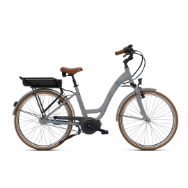 Vélo à assistance électrique O2Feel VOG N7C SHIMANO STEPS E5000 grey/blue P600 2019