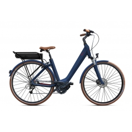 Vélo à assistance électrique O2Feel SWAN D8 SHIMANO STEPS E5000 blue/brick P600 2019