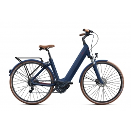 Vélo à assistance électrique O2Feel iSWAN ALFINE Di2 SHIMANO STEPS E5000 blue/brick iP432 2019