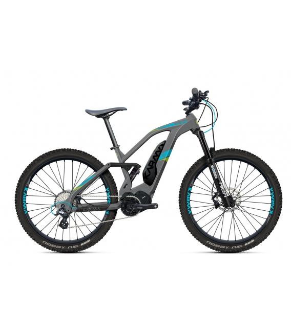 VTTAE O2Feel KARMA FS + D10 E7000 grey/blue/green P500 2019