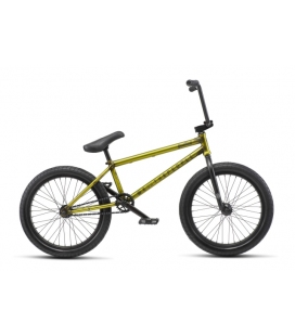 BMX WETHEPEOPLE JUSTICE 20.75 - matt trans yellow 2019