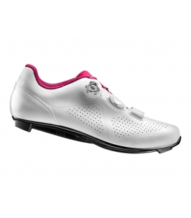 Chaussures route Giant LIV MACHA COMP Blanc/Fuchsia 2019