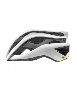 Casque route Giant REV MIPS Blanc Mat/Noir Brillant 2019