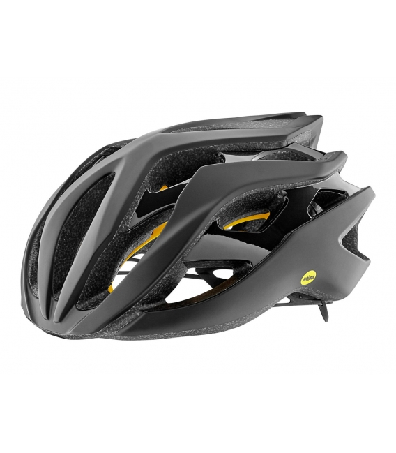 Casque route Giant REV MIPS Noir Mat/Noir Brillant 2019