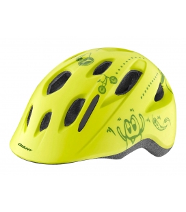 Casque enfant Giant HOLLER Jaune Citron 2019