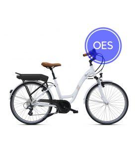 Vélo à assistance électrique O2Feel VOG D8C OES blanc 374 2019