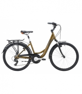 "Vélo de ville DEED KELLY 26"" DAME brun/orange 2019"