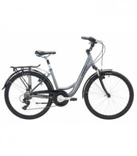 "Vélo de ville DEED KELLY 26"" DAME gris/bleu 2019"