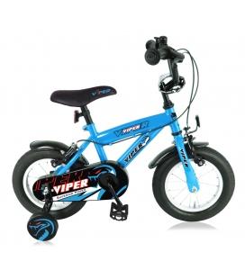 """Vélo garçon VIPER 12"""" bleu 2019"""