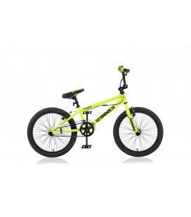 "BMX freestyle WINNER 20"" jaune 2019"