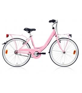 """Vélo fille RIMINI 24"""" rose 2019"""