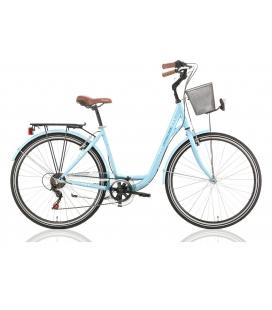 """Vélo de ville CENTRAL PARK 28"""" 6 vit. dame bleu 2019"""