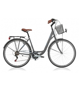 """Vélo de ville CENTRAL PARK 28"""" 18 vit. dame anthracite 2019"""