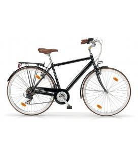 """Vélo de ville BOULEVARD 28"""" 18 vit. Homme noir 2019"""