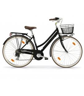 """Vélo de ville BOULEVARD 28"""" 18 vit. dame noir 2019"""