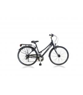 """Vélo de ville TARANTO 400 28"""" dame noir/gris 2019"""