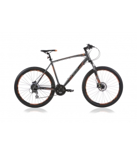 "VTT OUTRAGE 603 27.5"" homme gris/orange 2019"