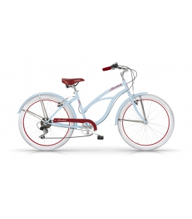 "Cruiser HONOLULU 26"" dame bleu 2019"