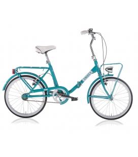 "Vélo pliant ANGELA 20"" FW turquoise 2019"