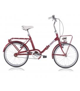 "Vélo pliant ANGELA 20"" FW rouge 2019"