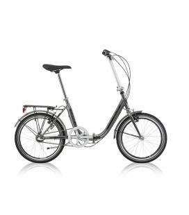 "Vélo pliant DAX 20"" Nexus 3 gris 2019"